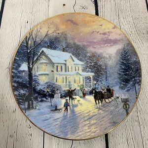 Thomas Kincaid Collectible Plate